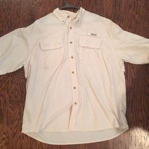 Magellan Sportswear Ivory Fishing Shirt XXL